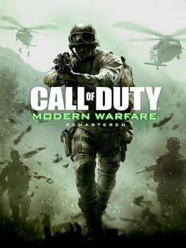 Call of Duty: Modern Warfare Remastered Cover