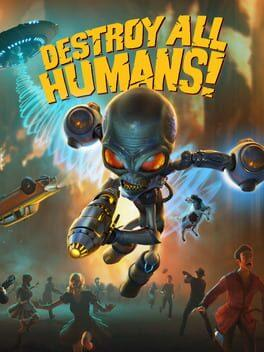 Destroy All Humans! Cover